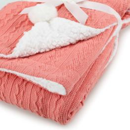 Двулицево зимно одеялце