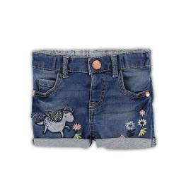 Дънкови панталонки с апликации
