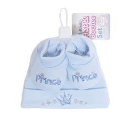 Бебешка шапка с буйки - Prince