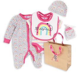 Бебешки комплект от пет части  Magical + подаръчна торбичка