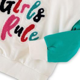 Ватирана блуза Girls Rule