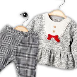 Туника с клин - панталон