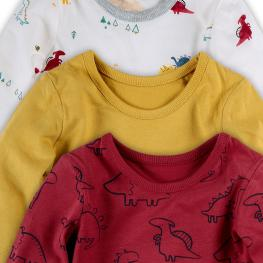 Блузки с дълъг ръкав - 3 броя