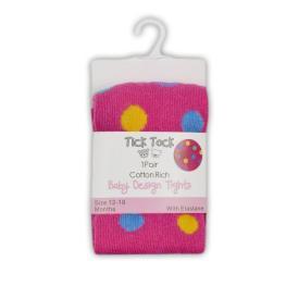 Детски чорапогащник на цветни точки