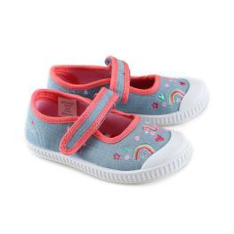 Дънкови обувки с апликации