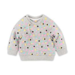 Плътна блузка на цветни точки