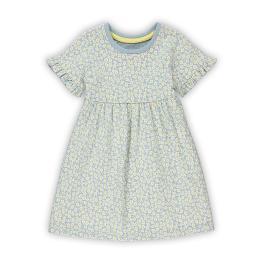 Трикотажна рокля - Маргаритки