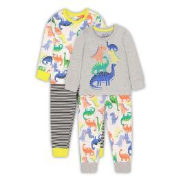 Комплект пижами Дино - 2 броя