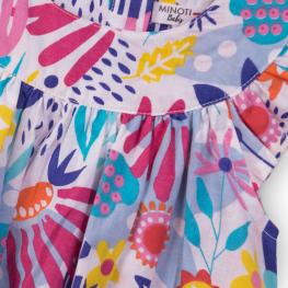 Цветна рокля с гащички