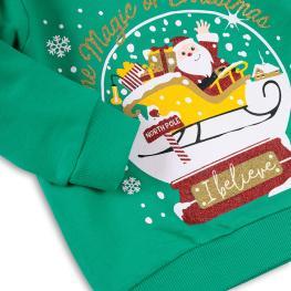 Коледна блузка - I believe