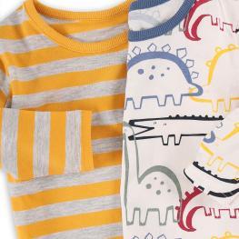 Комплект блузки с дълъг ръкав - 2 броя