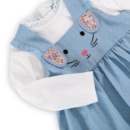 Сукман с блузка - Зайче
