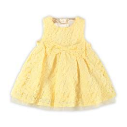 Бебешка рокля от дантела