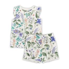 Лятна пижамка на цветя- NEXT