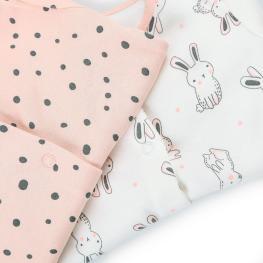 Бебешки гащеризончета Bunny - 2 броя