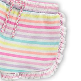 Трикотажни панталонки в цветно райе