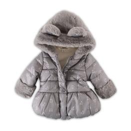 Зимно яке с пухена качулка