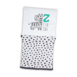 Бебешко одеяло Зебра