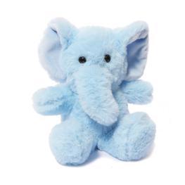 Плюшено слонче - синьо