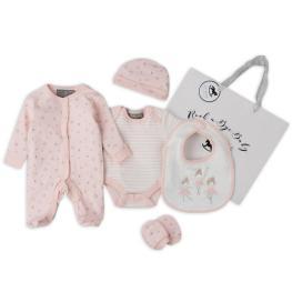 Бебешки комплект + подаръчна торбичка