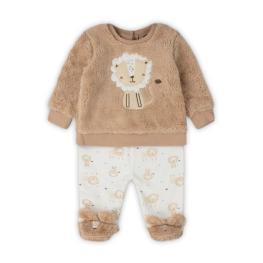 Бебешки комплект с пухена блузка