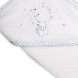 Бебешка хавлия с качулка