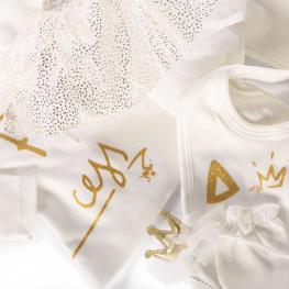 Комплект за новородени принцеси - 5 части