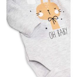 Бебешко боди с дълъг ръкав