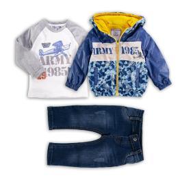 Дънки, блузка и яке