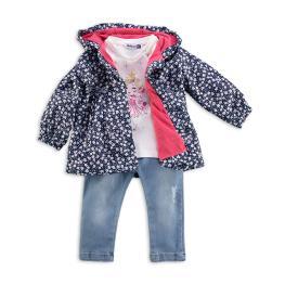 Блузка с дънки и яке
