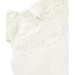 Бяла рокля от дантела