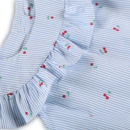 Елегнатна блузка - Черешки