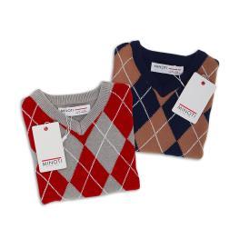 Елегантен детски пуловер