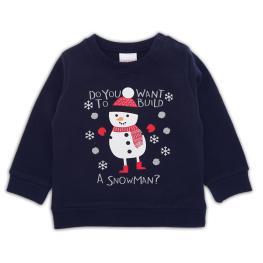 Коледна блузка Снежко