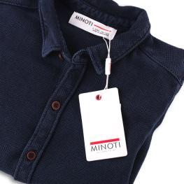 Памучна детска риза Indigo
