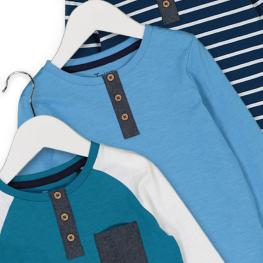 Комплект детски блузки- 3 броя
