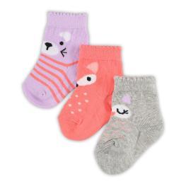 Бебешки чорапки Муцунки- 3 броя