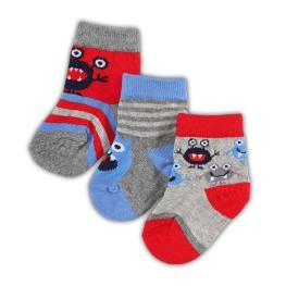 Бебешки чорапи Alien- 3 броя