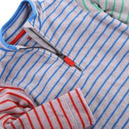 Поларена блузка с цип