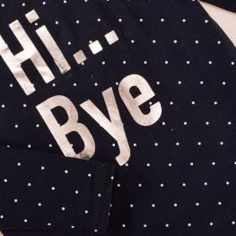 Детска блузка - Hi...Bye