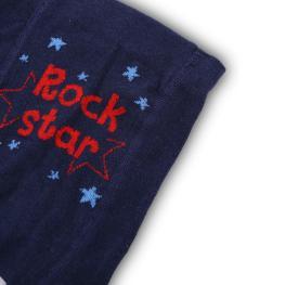 Бебешки чорапогащник Rock STAR- тъмно син