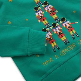 Коледна суитчер блузка