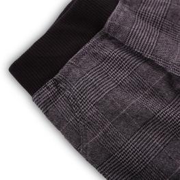 Модерно карирано панталонче с подплата