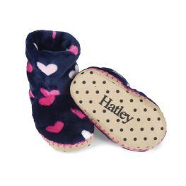 Пантофки ботушки на сърца