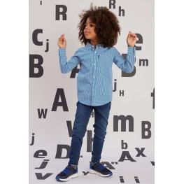 Детска карирана риза