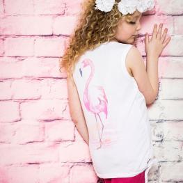 Модерен детски топ Фламинго