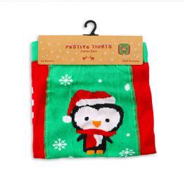 Коледен чорапогащник Пингвин