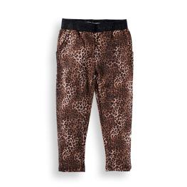 Плътен леопардов панталон
