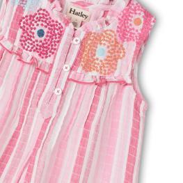 Разкошна лятна рокля с бродерии