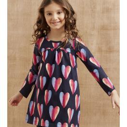 Красива рокля на сърца